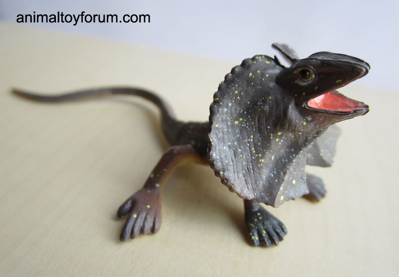 Frilled lizard (Furuta...