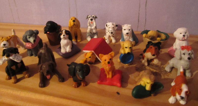 My Childhood Collection Of Puppy In My Pocket